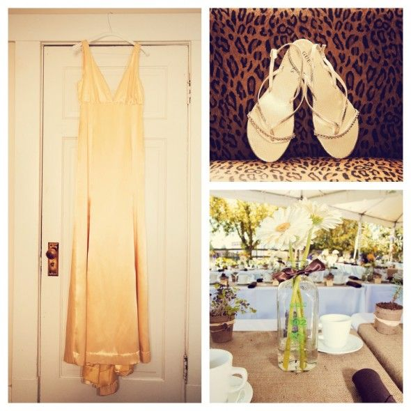Yellow wedding dress My Wedding Ideas