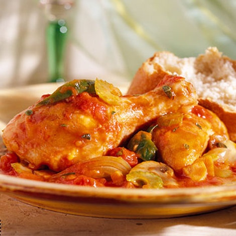 Slow Cooker Chicken Cacciatore Recipe | Chicken, chicken and more chi ...