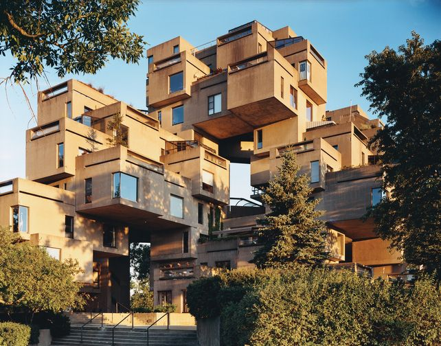 Moshe safdie architecture design pinterest for Habitat 67 architecture