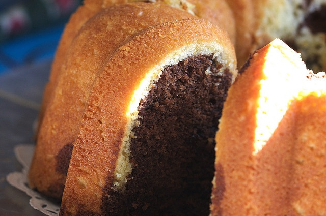 Chocolate Orange Bundt Cake | Just Desserts | Pinterest