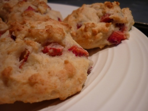 Strawberry Ricotta Scones