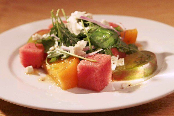 Culinary SOS: The Hungry Cat's tomato and watermelon salad