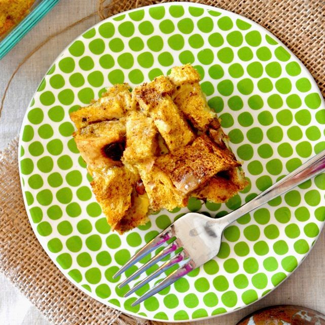 Pumpkin French Toast Bake   Breakfast   Pinterest