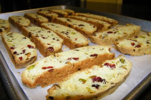 Cranberry Pistachio Biscotti | Recipes | Pinterest