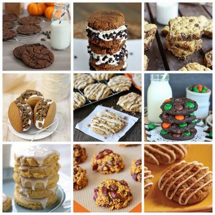 cookies, browned butter pumpkin oatmeal cookies, Chewy pumpkin butter ...