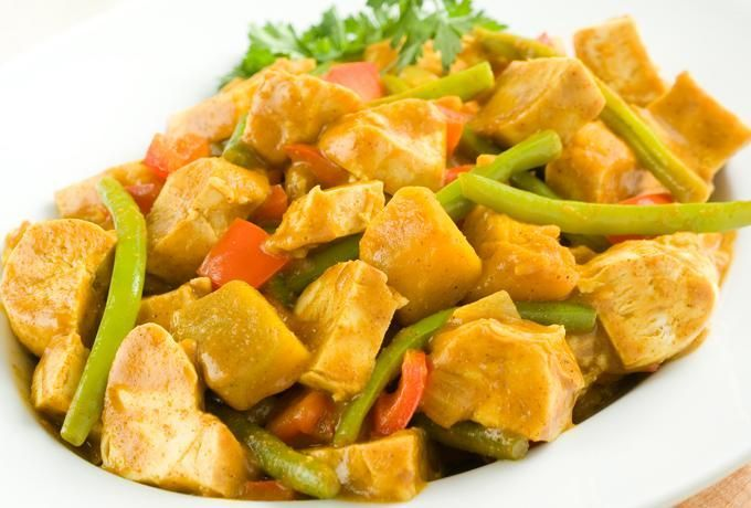 "Chicken curry in a hurry. | All about ""Food"" 