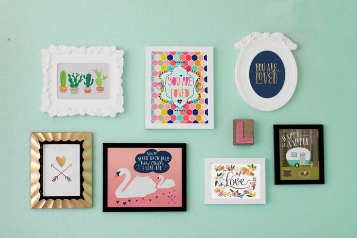 We absolutely adore these nursery wall prints from @Lucy Darling! Retro with a touch of modern whimsy - #PNapproved #nursery #walldecor