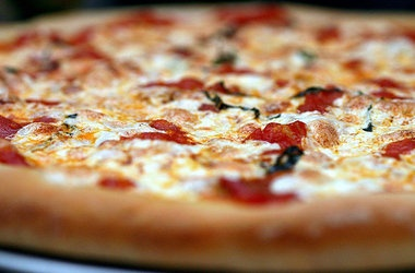 Pizza, Updated — Punchfork | Vegetarian Recipes | Pinterest