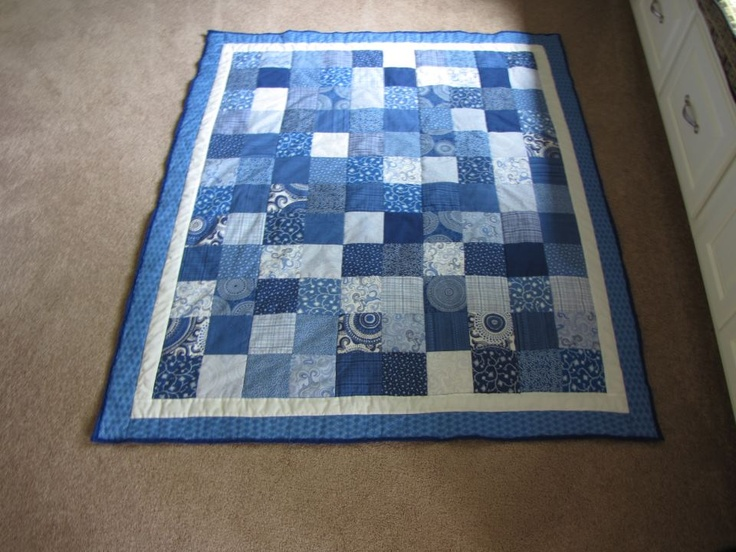 The first quilt Mike and I made...