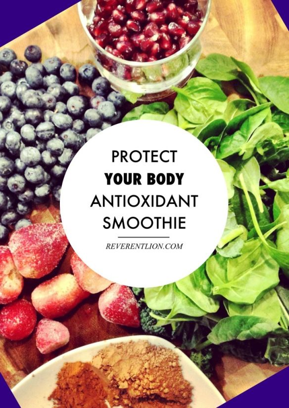 antioxidant smoothie - yum! | Drinks | Pinterest