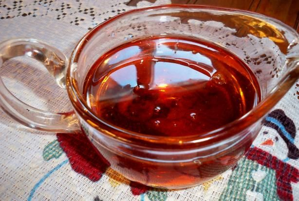 Made from Scratch Pancake Syrup from Food.com: Make your own pancake syrup right at home! You probably have all the ingredient on hand! This would make a nice gift, with some pancake mix, a spatula, and maybe a frying pan in a basket. Adapted from Meal Master.