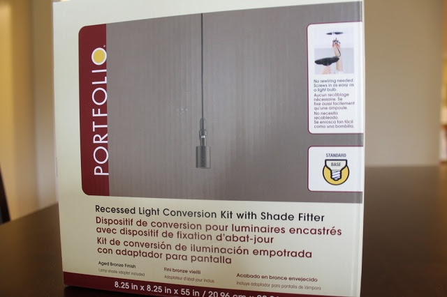 recessed light conversion kit lowes products i love. Black Bedroom Furniture Sets. Home Design Ideas