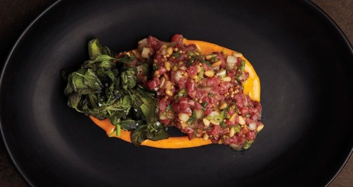 Beef Tartare, the Dish of the Year, at Joule Restaurant - Bon Appétit ...