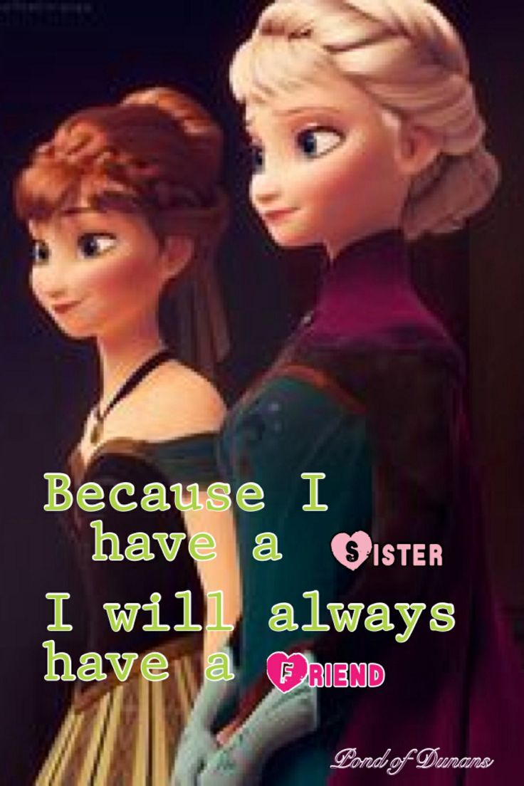 Pin by Alicia Hoover on Ecards | Frozen sister quotes, Frozen
