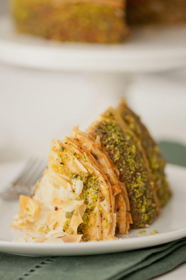 Best of Baklava Recipes Pistachio Baklava Cake Recipe