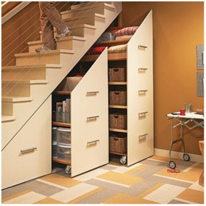 pullouts stair rails stair finishing basement pinterest