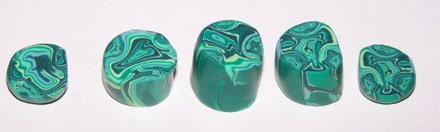 faux malachite