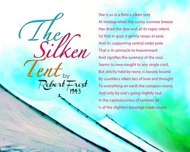 the silken tent Notes on anatomy and physiology: the spinal column we need to consider the form of the spine,  the silken tent: she is as in a field a silken tent.