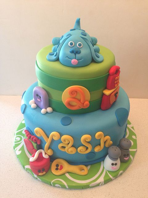 Blues Clues Cake | Flickr - Photo Sharing!
