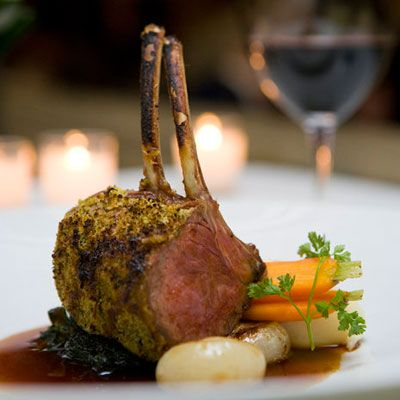 mustard and herb crusted rack of lamb | Delicious | Pinterest