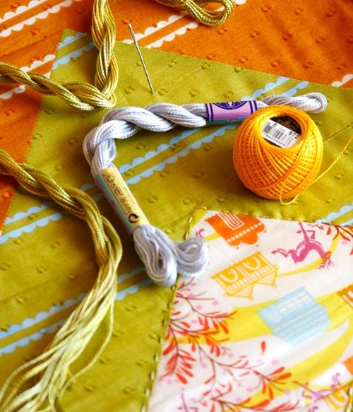 Ana Marie Horner tutorial for hand quilting.