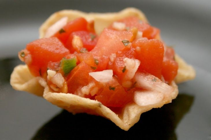 Fresh Tomato Salsa Recipe Lunch and Snacks, Appetizers, Condiments and ...