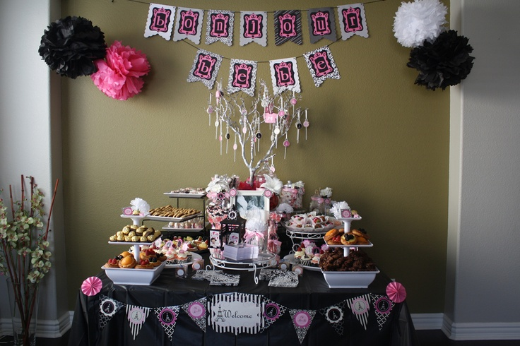 paris theme baby shower kid birthdays pinterest