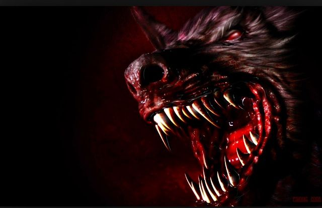 Awesome werewolf mouth shot | Werewolves | Pinterest Werewolf