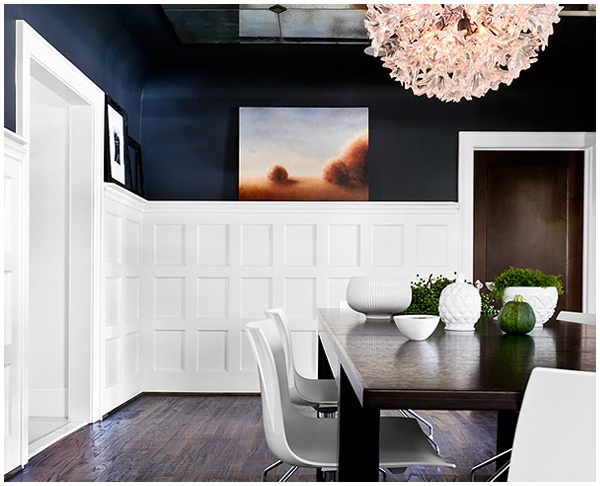 Paneling In Dining Room For The Home Pinterest