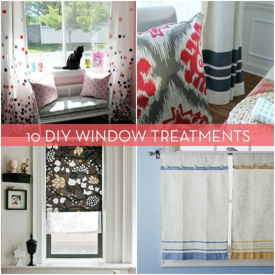 Roundup: 10 Affordable & Awesome Do-It-Yourself Window Treatments ...