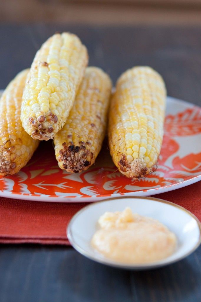 Smoky Peach Butter with Grilled Corn | Flavored Butters & Spreads ...