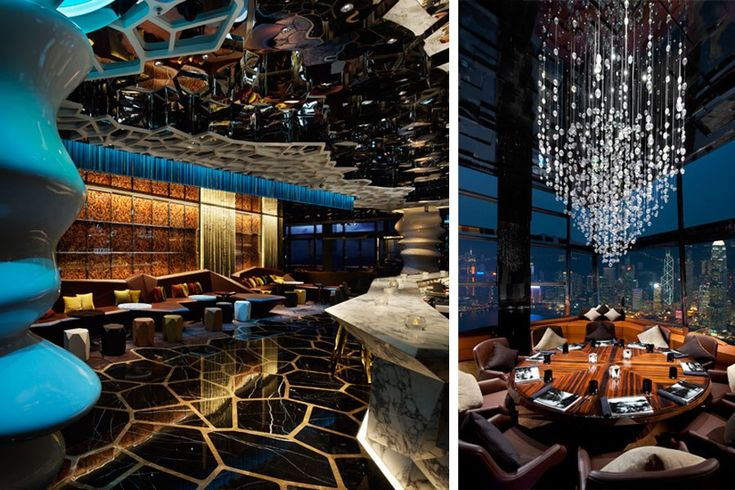 Ozone hong kong best new restaurant design for Architecture design company ranking