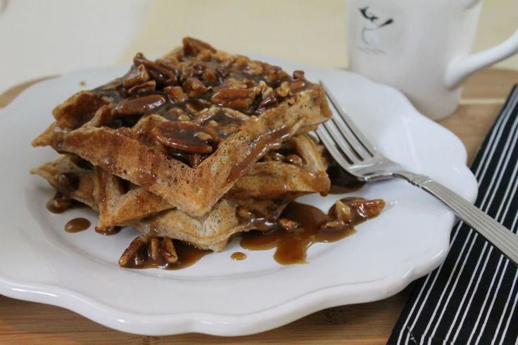 Monday Breakfast- Praline Waffles — | Waffles | Pinterest