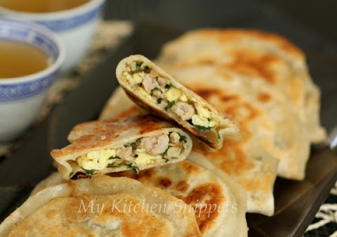 My Kitchen Snippets: Chinese Chives Pocket