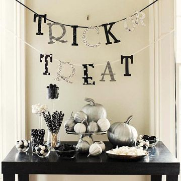 Make homemade Halloween decorations! Learn how:  http://www.bhg.com/halloween/decorating/homemade-halloween-decorations/