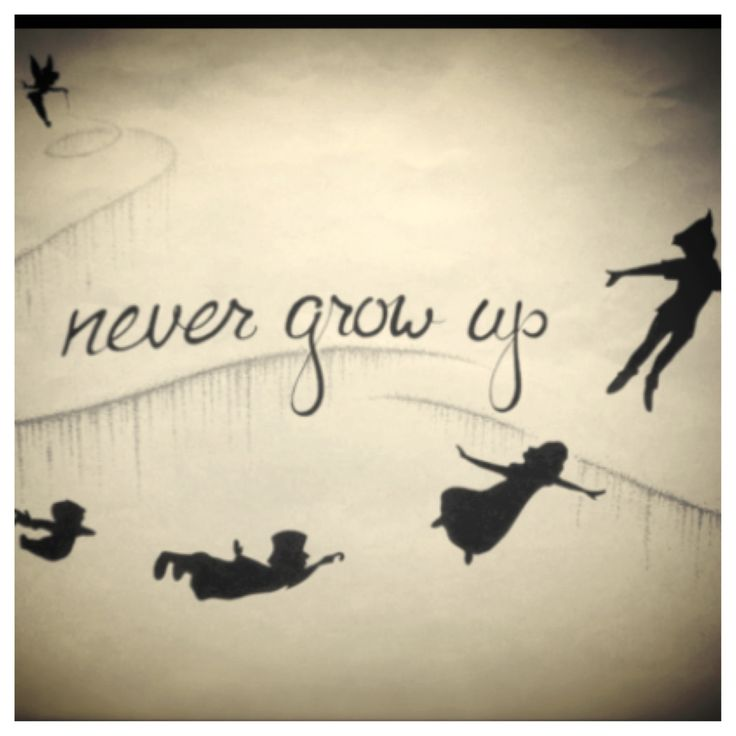 peter pan quotes about not growing upQuotes About Growing Up Peter Pan