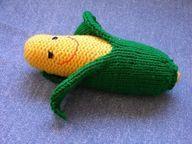 Corn on the Cob. - http://crochetimage.com/corn-on-the-cob/