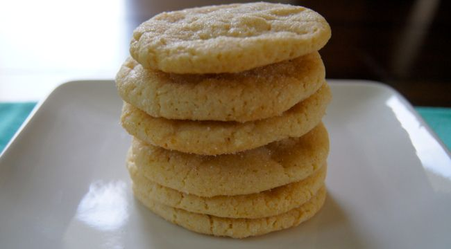Chewy Sugar Cookies- I wouldn't say these were particularly chewy- not ...