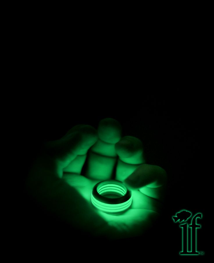 Glow in the dark ring if industries39s concepts pinterest for Glow in the dark wedding rings