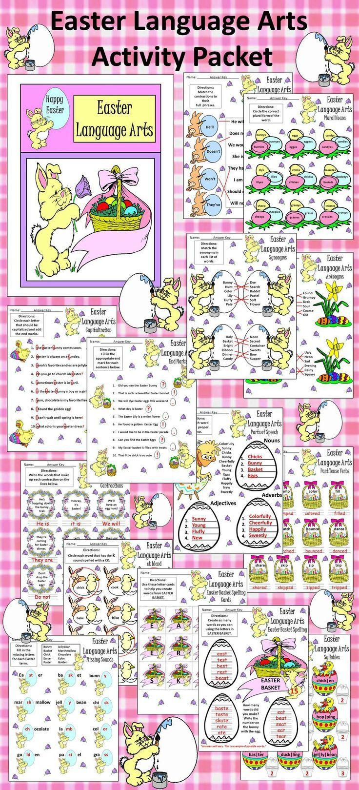 2nd grade language arts worksheets free printables