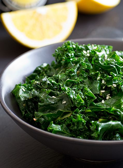 Citrus Sesame Kale | Recipe