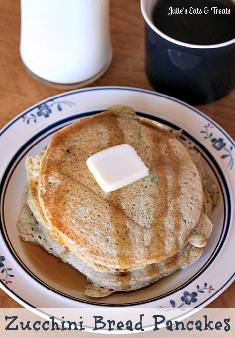 Zucchini Bread Pancakes ~ The yummy taste of Zucchini Bread in your ...