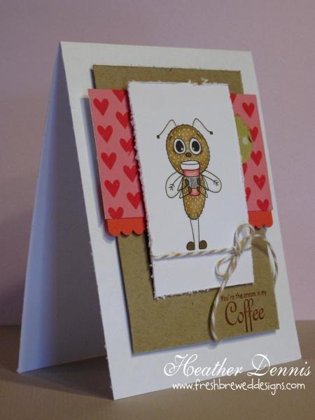 Cutie Bug Latte _ FBD | Cards - Die cut Borders | Pinterest
