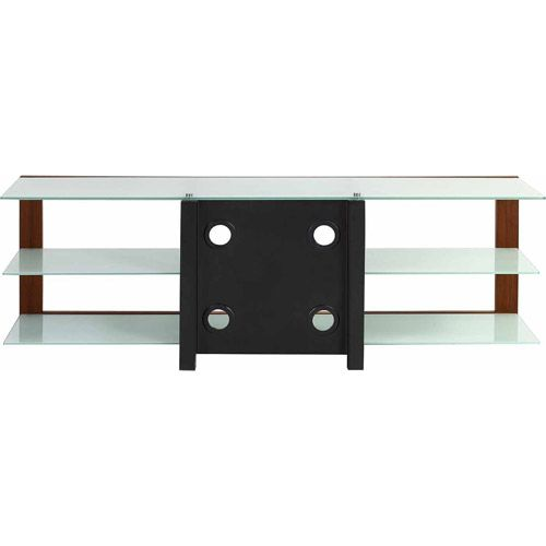 Techni Mobili Naples Frosted Tempered Glass TV Stand, for TVS up to 65 ...