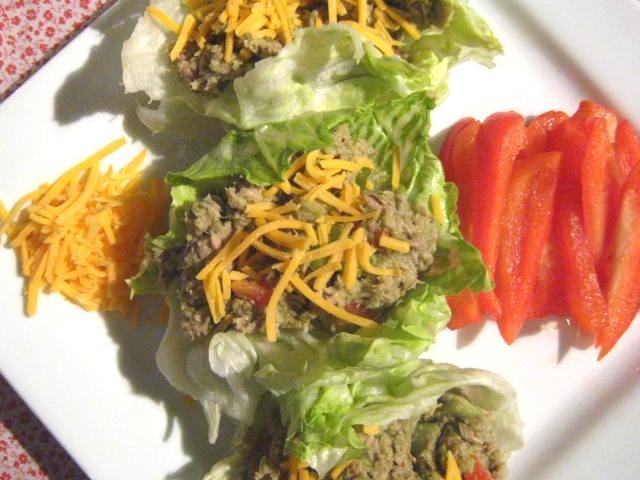tuna / avocado lettuce wraps   Favorite Recipes   Pinterest