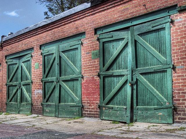 washington dc vintage garage doors fuel up pinterest