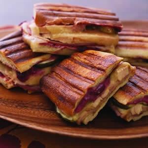 Grilled Turkey Cuban Sandwich | Dexter Party | Pinterest