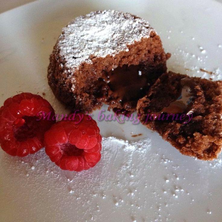 Molten lava cupcakes | Cakes | Pinterest