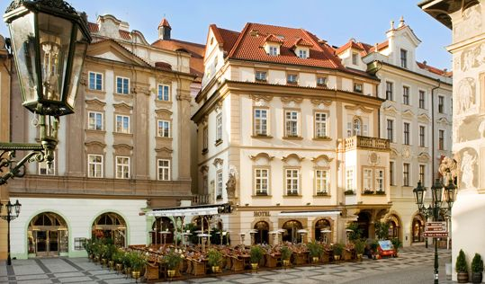 Hotel u prince prague hotels i want to stay at pinterest for Terrace u prince prague