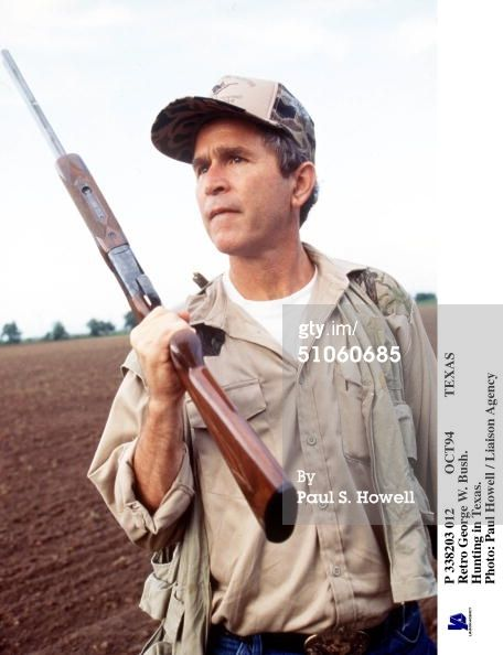 GEORGE W BUSH Hunting - See best of PHOTOS of the 43rd US President of    George W Bush Hunting